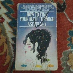 Vintage 1969 Astrology for Love Paperback